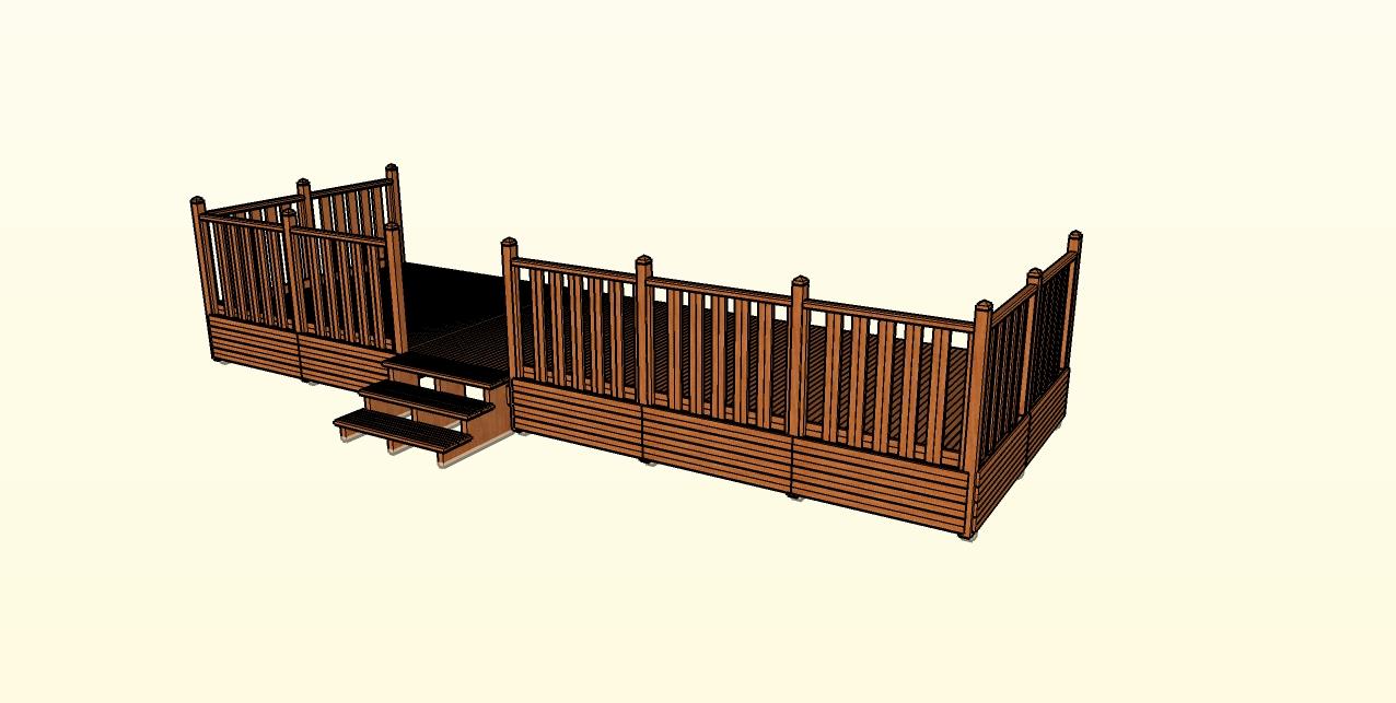 Nivrem com = Montage Terrasse Bois Pour Mobil Home ~ Diverses idées de conception de patio en  # Terrasse Bois Montage