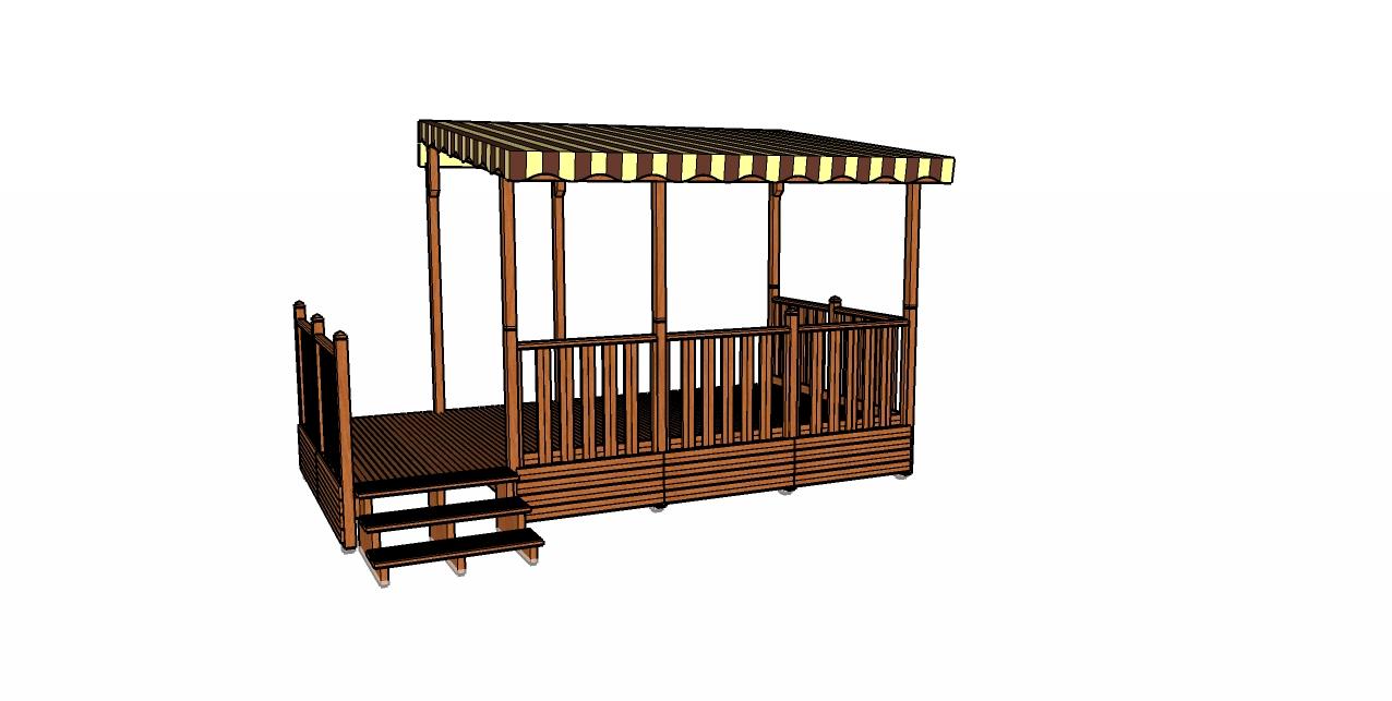 terrasses en bois pour mobilhome Terrasse mobilhome montage très