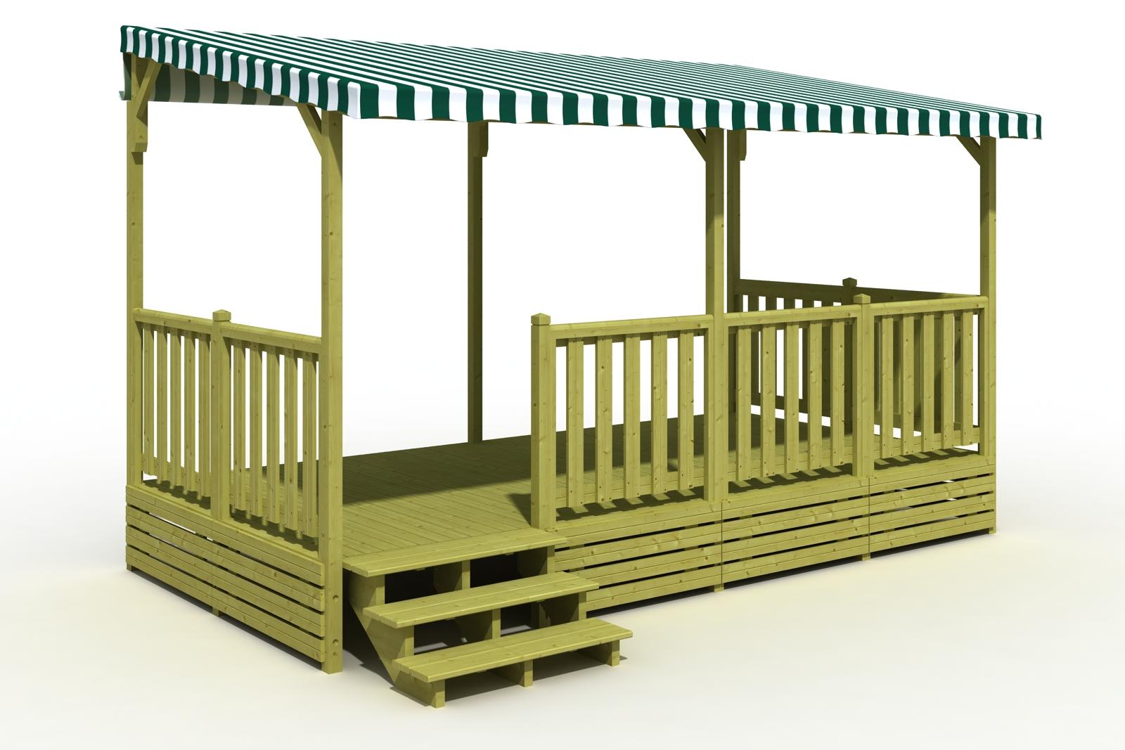 Couverte  Terrasse Mobil Home  Deckit  Fabricant terrasses en bois