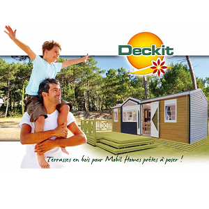 Terrasse mobil home - image terrasse Catalogue Deckit